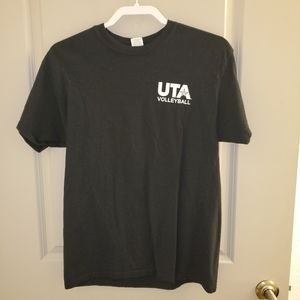 Black UTA Volleyball t-shirt